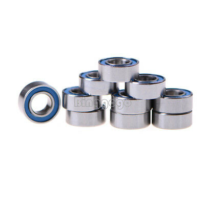 5Stks MR105-2RS Miniature ball Bearings with blue Plastic cover 5*10*4mm