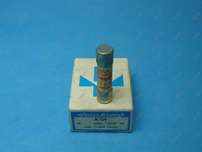 Shawmut ATQ4 Time Delay Fuse Midget 4 Amps 500 VAC Box Of Qty 10 New