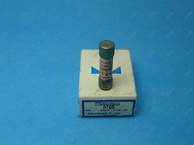 Shawmut ATQ8 Time Delay Fuse Midget 8 Amps 500 VAC Box Of Qty 10 New