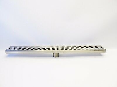 "30"" Stainless Steel Surface Mount Tap Drain Tray 30"" L x 3- 3/8"" W"