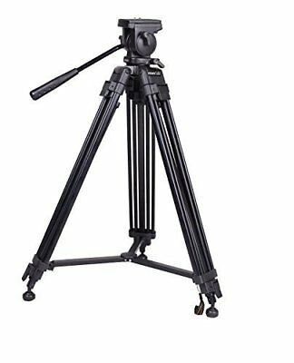 SOMITA Professional Video Tripod ST-650, 65mm Bowl, 62 inch height, with 2 Quick