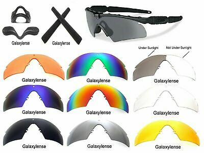 Galaxy Replacement Lenses For Oakley Si Ballistic M Frame 2.0 Z87 Multi-Color