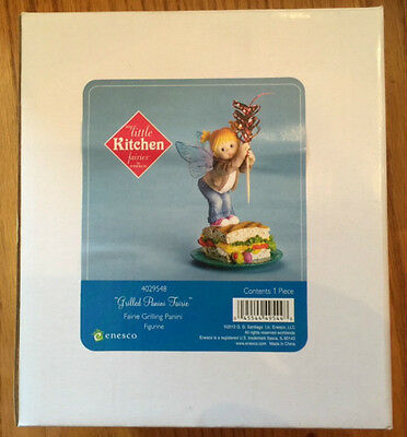 My Little Kitchen Fairies with Grilled Panini 2012, New in Box, Free Shipping
