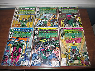 Lot of 6 Green Lantern Emerald Dawn II DC Comics 1 2 3 4 5 6 Back Issues