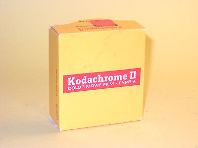 Kodachrome 25 - vintage unexposed Super 8 movie film cartridge with Box