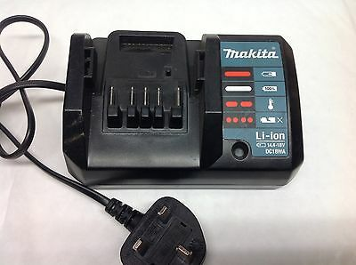 Makita DC18WA  14V -18v Lithium Battery Charger Li-ion G-Series good working