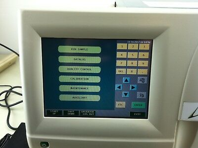 DREW D3 AUTOMATIC HEMATOLOGY ANALYZER -- manufactured in: 2011