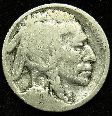 1920 S Buffalo Indian Head Nickel AG About Good (B03)