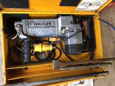 Genuine Wacker 110 Volt  1.1 Kw Heavy Duty Boxed- Assorted Tools- Service Receip