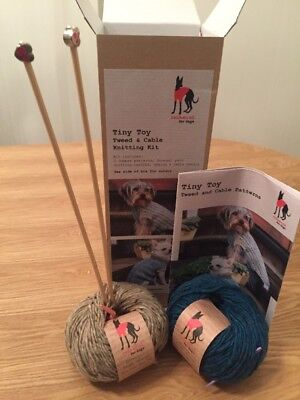 Dog Jumper Knitting Kit - New, Boxed made by Redhound.