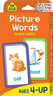 Picture Words Flash Cards Learning Alphabet for Toddlers Baby First Words Letter