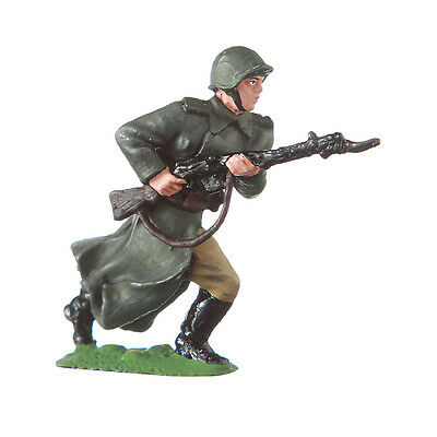 Tin Toy Soldier Russian Soviet USSR WW2 Red Army Private 54mm hand painted #309