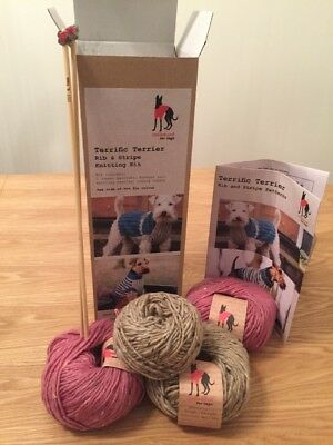 Dog Jumper Knitting Kit - New, Boxed made by Redhound