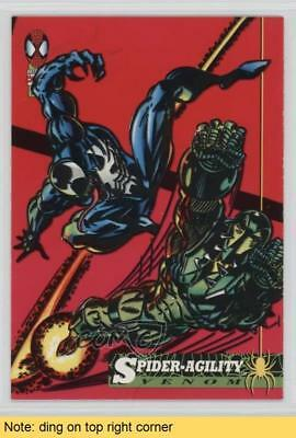 1994 Fleer Marvel Cards The Amazing Spider-Man #12 Spider-Agility READ Card 1sc