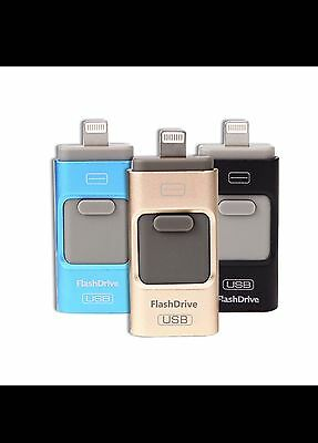 3 In1 32GB USB Flash Drive For iPod iPhone iPad Android $ 27.99/pcs
