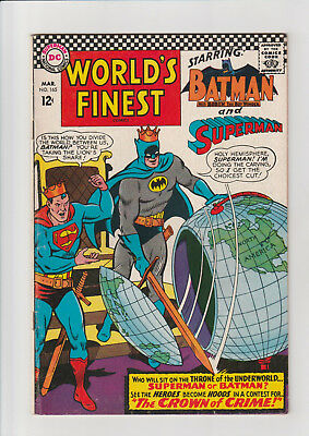 World's Finest #165 F  DC comic Batman Superman 1967 Swan