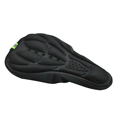 Cycling Bicycle Silicone Non-slip Saddle Seat Cover Cushion Soft Pad EW