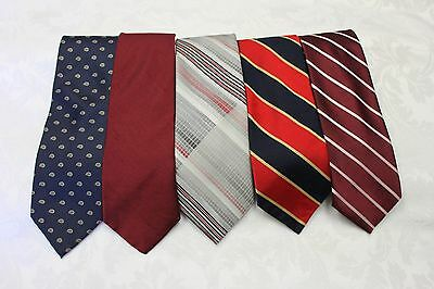 "Lot Of 5 Ties Different Name Width 3"" & Length 54""-57"""