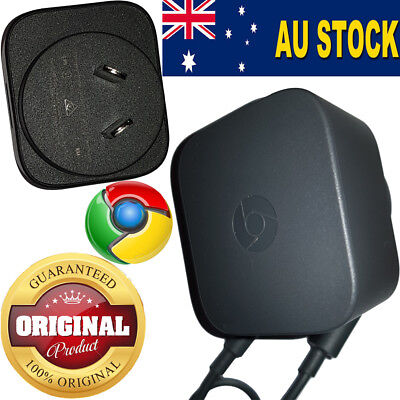 Original AC-Adapter Power Wall Charger for Google ChromeCast & Ultra as new AU