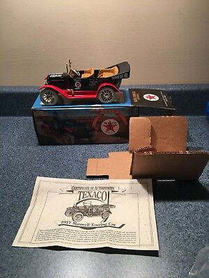 New Never Used 1997 Texaco Maxwell Touring Car Collectors Series #14 Die-Cast