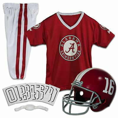 Franklin Sports NCAA Deluxe Youth Team Uniform Set Alabama Crimson Tide Small
