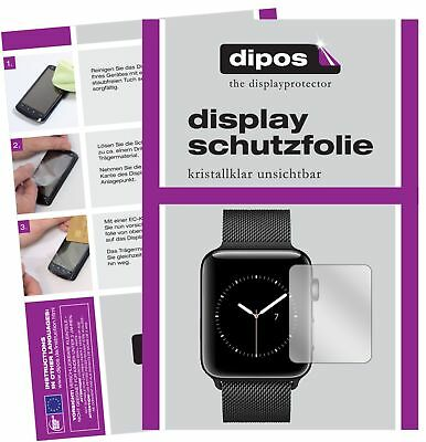 6x Apple Watch Series 3 38mm Schutzfolie klar Displayschutzfolie Folie Display