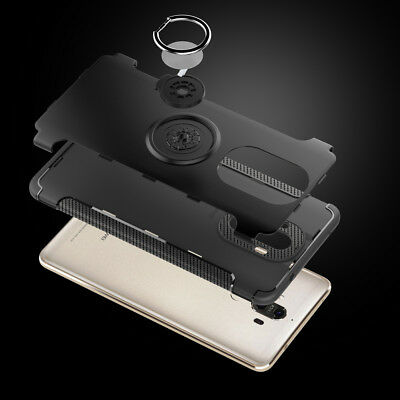 For Huawei Mate 10Pro Magnetic Hybrid Ring Holder Protective Case Cover