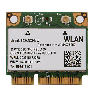 300M Dual Band Half Mini PCI-E WIFI Wireless Network Card For Intel 6250 WiMax