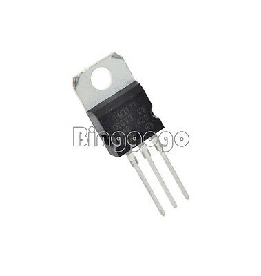 10 LM317T STM Spannungsregler TO-220 LM317 T Voltage Regulator TO220
