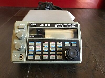 G11 Aor Ar-2002 Scanner Communications Reciever, Airband