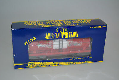 American Flyer Train 6-48416 Campbell Soup Single Dome Tank Car  S Gauge Nib New