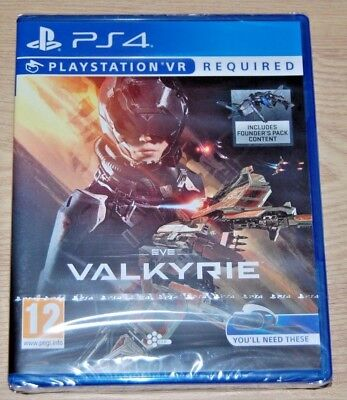 Eve Valkyrie-  Playstation 4 - Playstation VR Required (PSVR) - New UK Stock