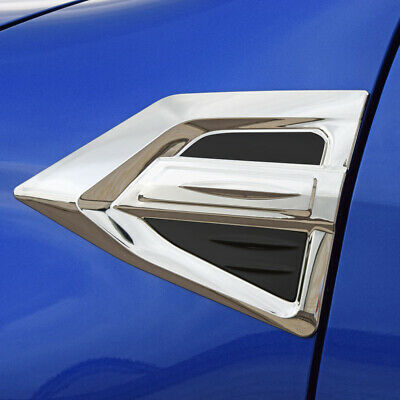 Toyota Hilux 2016 On Side Wing Chrome Styling Trim