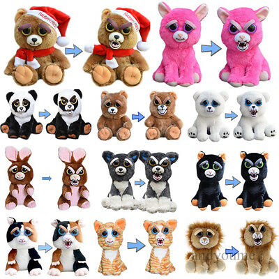Feisty Plüsch Haustiere Pets Expression Scary Face Toy Animal Weinachten Gift DE