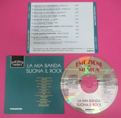 CD Compilation La Mia Banda Suona Il Rock PFM LE ORME FORMULA 3 no lp mc(C44)