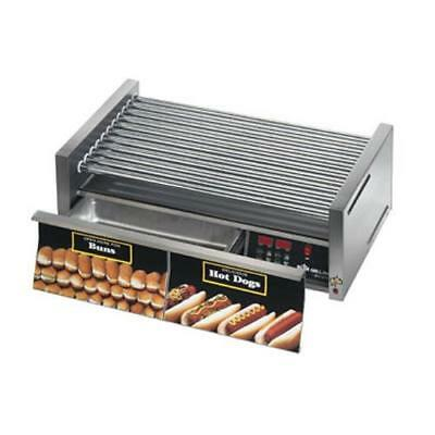 Star - 50SCBDE - Grill-Max Pro® Electronic 50 Hot Dog Roller Grill w/ Bun Drawer
