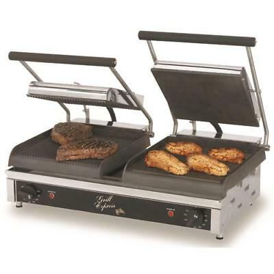 Star - GX20IGS - Grill Express™ 20 in Grooved/Smooth Sandwich Grill