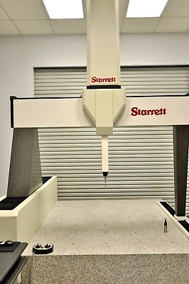 Starrett Coordinate Measuring Machine - Under Power & Updated In 2017