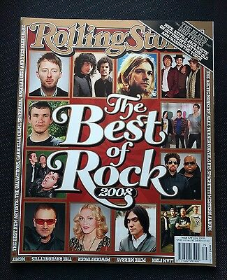 ROLLING STONE #679 BEST OF ROCK 2008 + The Interviews Book