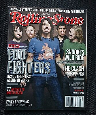 Rolling Stone #714 Foo Fighters