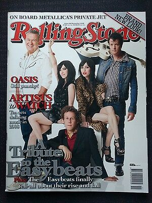 Rolling Stone #684 Easybeats Tribute The Veronicas, Jimmy Barnes, Living End