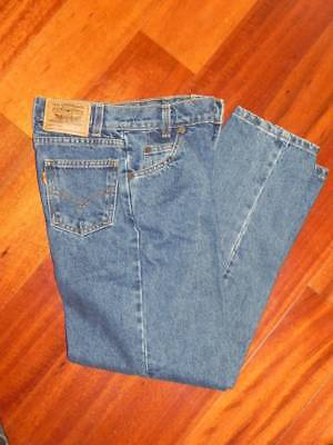 Levi's  Relaxed Fit Straight Legs  Blue JEANS   size 12 Slim  23x25  EUC