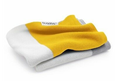 Bugaboo Light Merino Wool Blanket (Bright Yellow Multi)