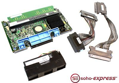 Dell Poweredge Perc 5/i 256Mb Sas Raid Controller Card 0Wx072 W/ Battery