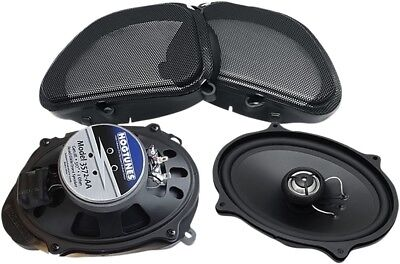 """Hogtunes 5x7"""" Front Replacement 2 OHM Speakers For 06-13 FLTR/FLTRU 3572-AA"""