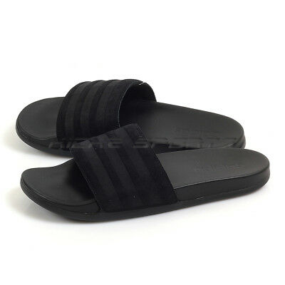best service cbd8a a30be Adidas Adilette CF Ultra Black Black Black Lifestyle Sandals Slippers AQ2104