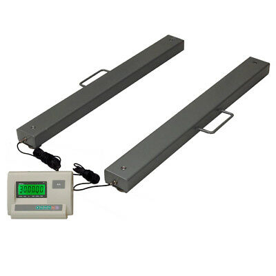 3 Ton Weigh Beam Scales for Freight Floor Pallet or Livestock 1.2m
