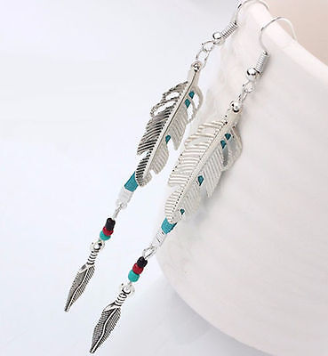 Horse & Western Jewellery Jewelry Ladiies Native Usa Style  Earrings Silver