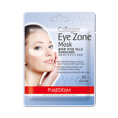 [PUREDERM] Collagen Eye Zone Mask 1 Pack (30Sheets) (AU)