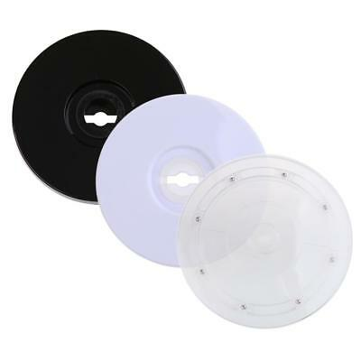 Plastic Turntable Plate Rotating Disc Base Turn Table Display Accessory